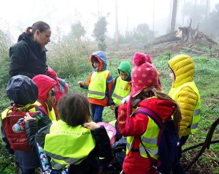 Waldpflanzaktion Deutsche Schule Estoril