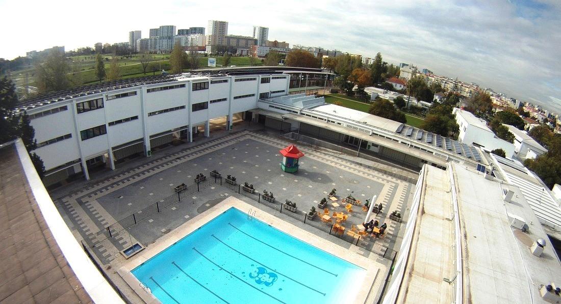 Deutsche Schule Lissabon Luftaufnahme