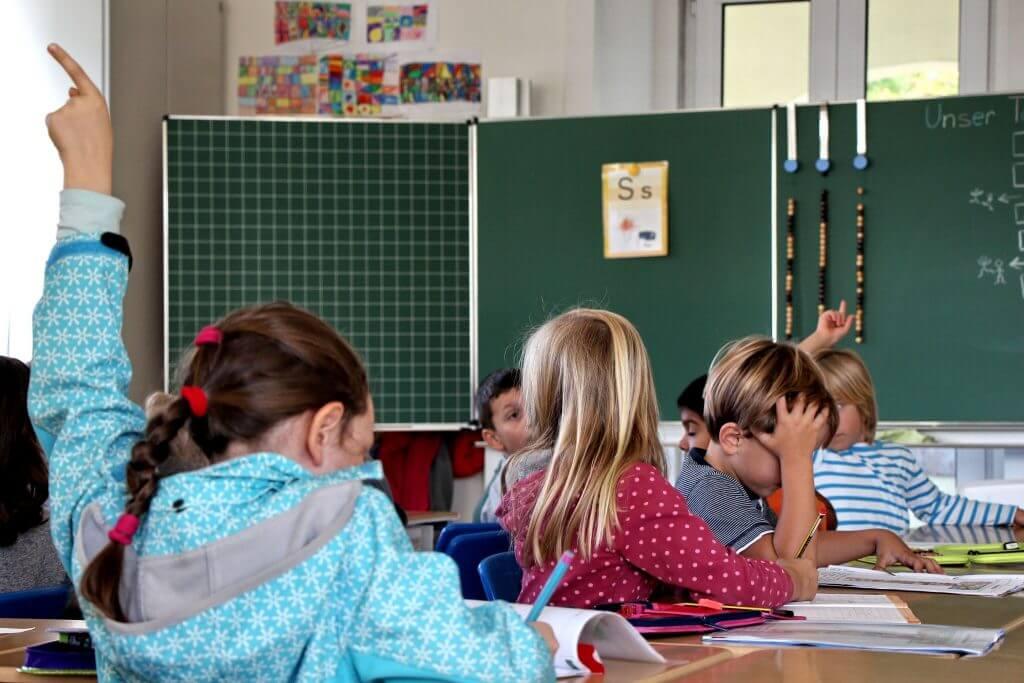 Deutsche Grundschule Estoril Klassenzimmer