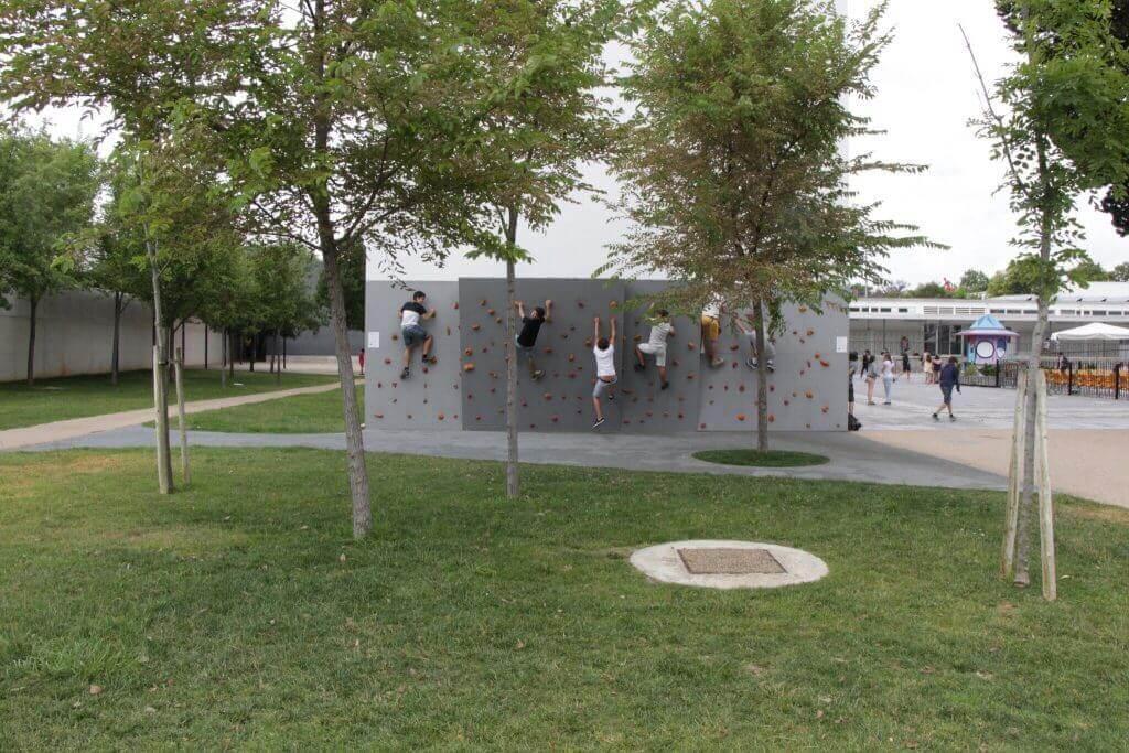 Parede escalada Escola Alemã de Lisboa