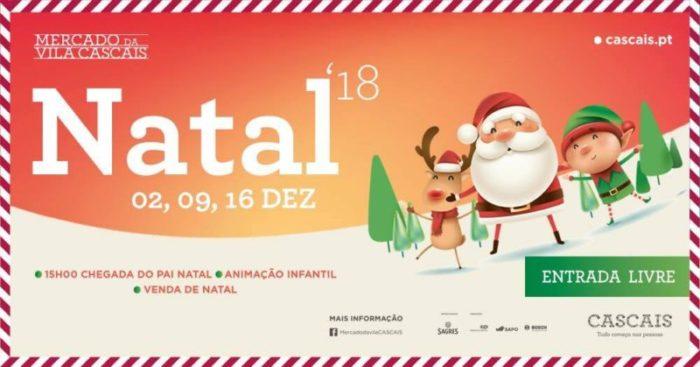 Weihnachtsmarkt Cascais DSL Lissabon