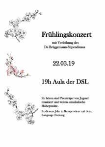 Frühlingskonzert 2019 DSL