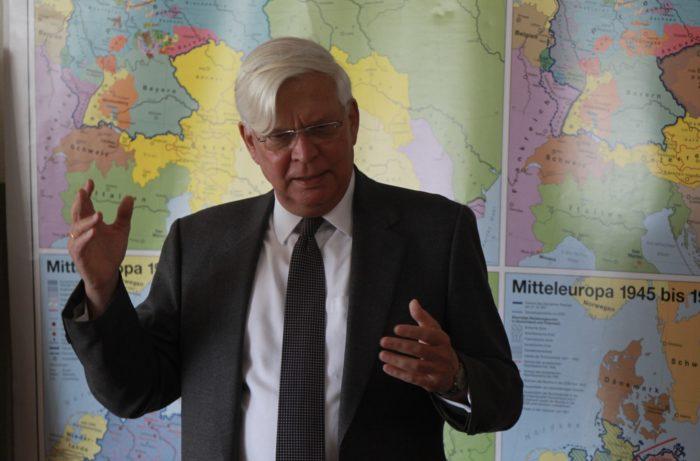Deutscher Botschafter Dr. Christof Weil an der DSL
