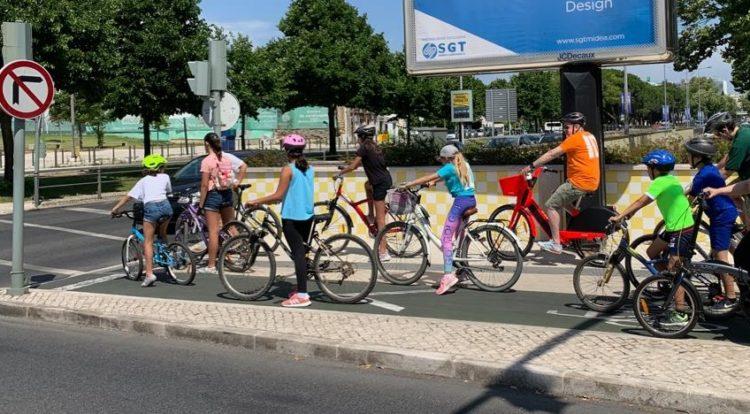 eco escolas passeio bicicleta